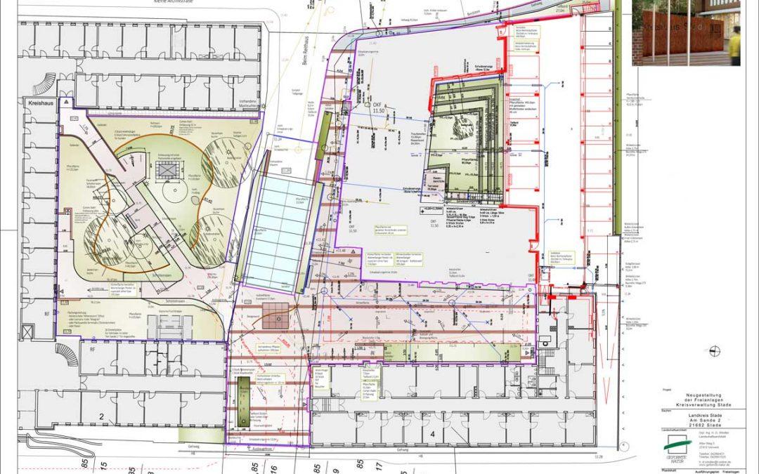 Erweiterung Kreisverwaltung Stade