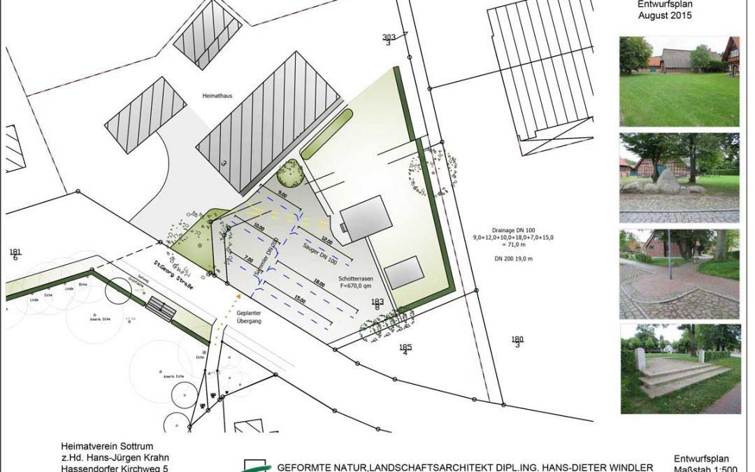 Heimathaus Sottrum – Platzgestaltung für Veranstaltungen